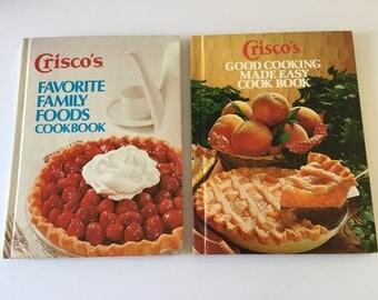 Set of Crisco Cookbooks