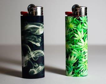 Weed or Smoke BIC Lighter