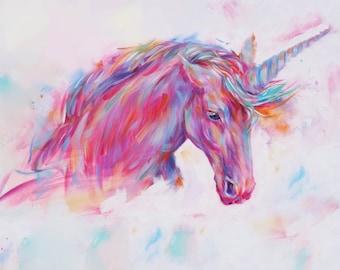 Unicorn Painting Fine Art Print