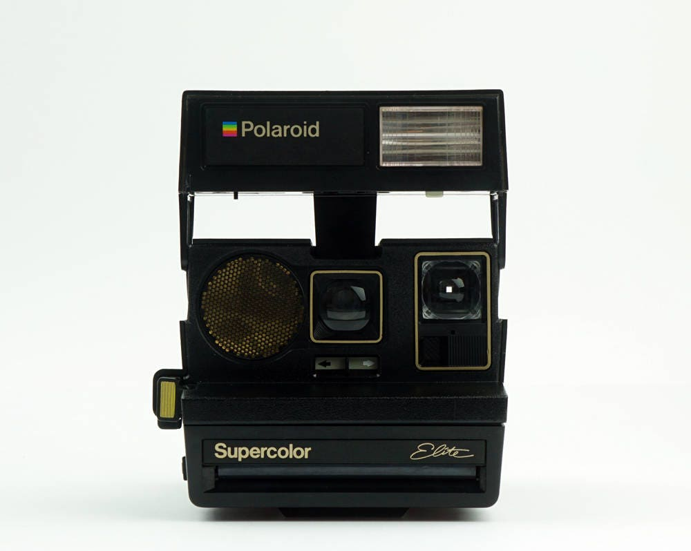 polaroid supercolor elite film appareil photo instantan. Black Bedroom Furniture Sets. Home Design Ideas