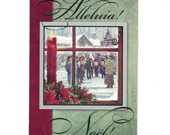 It's Christmas! Alleluia! Greeting Card
