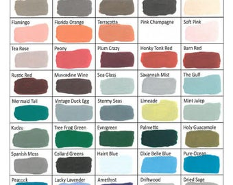 Dixie Belle Chalk Paint, Environmentally Friendly Paint, Water Base Paint, Farmhouse, Shabby Chic Paint Colors