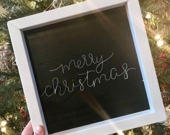 Merry Christmas sign, chalkboard, christmas chalkboard, christmas sign, christmas decor, christmas decorations, holiday sign, holiday decor
