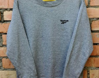 Rare!!! Reebok Sweatshirt Crewneck Medium Size
