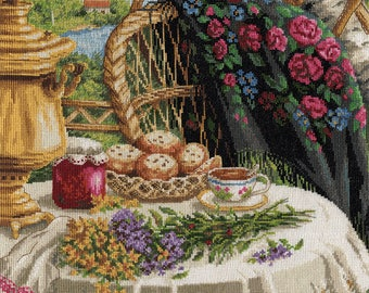 Cross Stitch Kit Summer Still Life