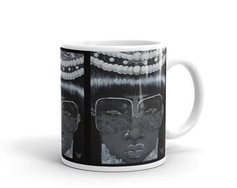 Black Reign mug