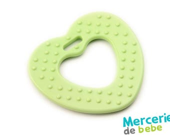 Green - heart shaped decoration - item V5 - C05