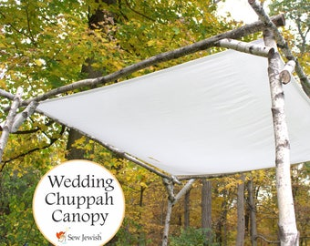 Wedding Chuppah Canopy - Jewish Wedding Chuppah Canopy - Wedding Huppah Canopy - Wedding Huppa Canopy - Large Chuppah Canopy - Handmade
