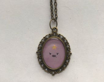 Adventure Time Cameo Necklace, 3 Designs and Two Colours