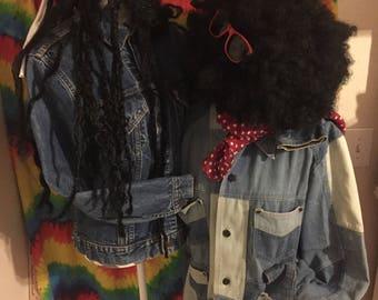 "VINTAGE LEVIS Jacket Big E  ""I Got You Babe"" Sonny & Cher Bob Dylan Yardbirds Vanilla Fudge Grateful Dead LSD Acid Trip Marshall Tucker Band"