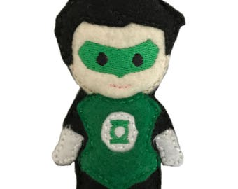 SALE!! Green Lantern inspired Catnip Toy