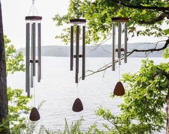 """Wind Chimes-Engraved WindChimes-Memorial-Love-Personalized-Wedding-Wind Chimes-FREE SHIPPING! 39"""""""