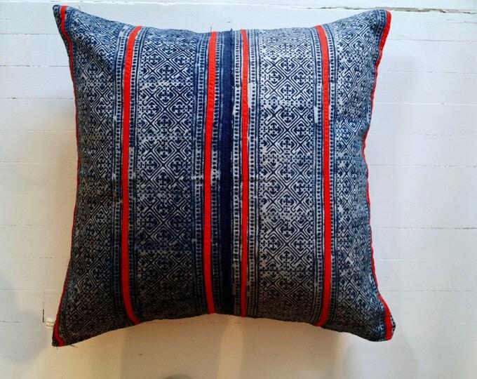 """Mor Hom fabric 20""""x20"""" throw pillow"""