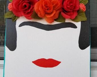 Frida Khalo 3D canvas