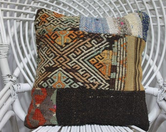 cool patchwork sham patchwork kilim pillow cover patchwork pillows throw pillow designer accent chair patchwork pillow designer pillow 3415