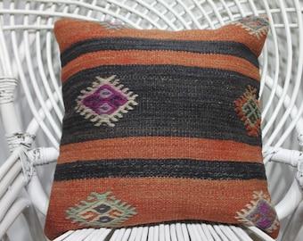 orange and black decorative pillows for bed cuscini antique furniture 16x16 bohemian throw pillows throw pillows sofa kilim pillow 3461