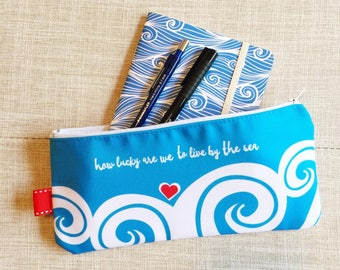 By The Sea - pencil case
