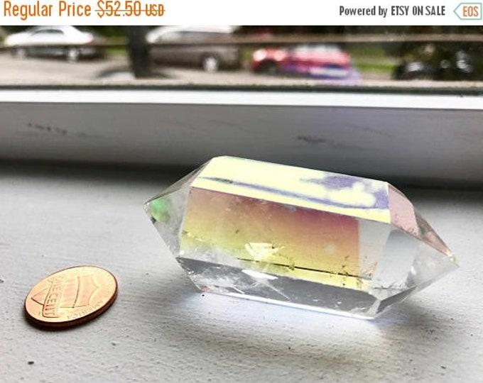 CLEARANCE SALE Aura Quartz Crystal