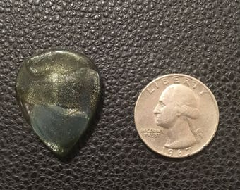 Glass Guitar Pick: Forest Fortune