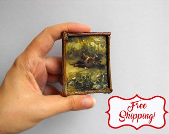Tiny kitten magnets cat lover gift art magnets handmade magnets funny magnets photo magnets animal magnets cat magnets cute cat magnet