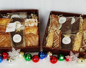 Deluxe Coffee Gift Basket Double w/ homemade baked goods, hostess gift, birthday gift, corporate gift, hospitality gift, office gift basket