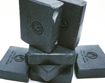Organic charcoal soap