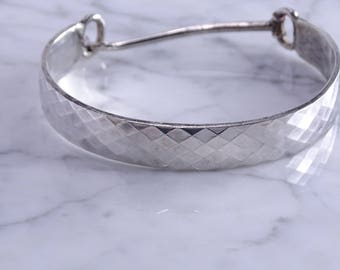 Cavana Custom Hand Wrought Sterling Bracelet