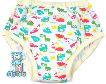 Adult Baby DINOSARS training pants ABDL