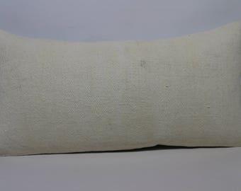 12x24 Handwoven Kilim Pillow Throw Pillow Lumbar Kilim Pillow 12x24 Flat Woven Kilim Pillow Turkish Kilim Pillow Cushion Cover  SP3060-1408