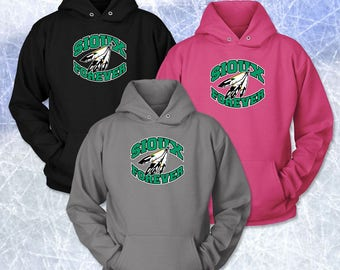 SIOUX FOREVER Crescent Logo Unisex Hoodie