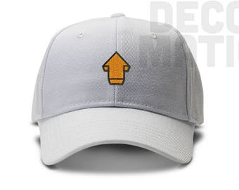 Up Vote Emoji Low Profile Cotton Dad hat - Reddit Upvote - Baseball Cap