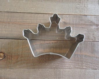 Princess Crown Cookie Cutter, Princess Cookie Cutters, Princess Theme Party, Royal Cookie Cutters,Metal Cookie Cutters,Princess Party Supply