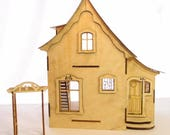 1:24 scale miniature dollhouse kit Nutcote for collectors