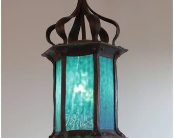 A8274 Art Nouveau Porch Lantern
