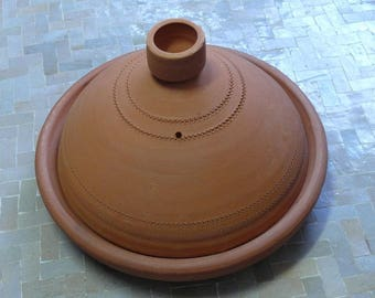 Moroccan Tajine for cooking unglazed Ø 35 cm for 4-5 persons