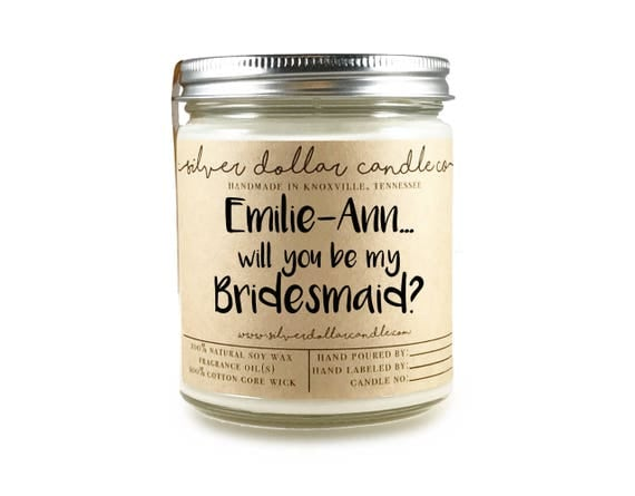 20 Beautiful Personalised Bridesmaid Gifts for Your Best Mates | Stay At Home Mum