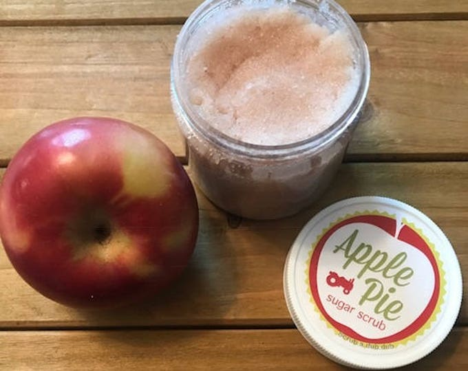 Homemade Apple Pie Sugar Scrub. Lake Life Candle Co.