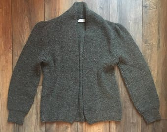 British Vogue 60s Cardigan Sweater