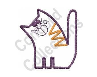 Cat - Machine Embroidery Design