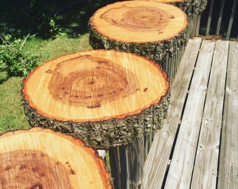 """16"""" wood cake stand! Wood slice cake stand, wood slab cake stand, tree slice cake stand, 16 inch wood slice, 16 inch cake stand!"""