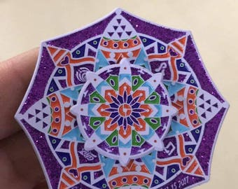 Camp Bisco 2017 Spinner pin