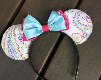 Minnie Mouse Ears pastel