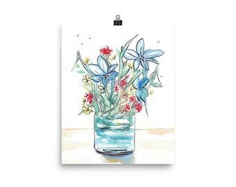 "Poster ""Bouquet-2"""