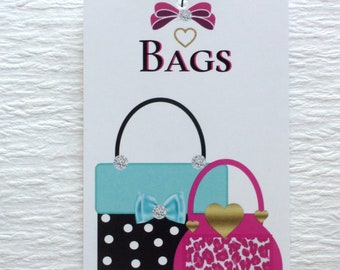 100 CLOTHING TAGS FASHION Tags Accessories Tags Boutique Tags Cute  Handbags Price Tags Retail Tags W Self-Locking Loops