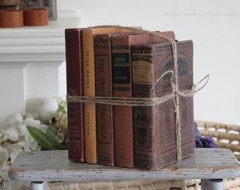 Vintage Wine Shade hardcover books set of 5