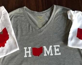 Home TShirts, Ohio Shirts, Buckeye, Family