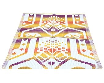 Indian Home Decor Door Mat Abstract Printed Washable Outdoor Indoor Mat Polypropylene Floor Rug Rag Wall Decorative Gift Mat 6FT X 4FT