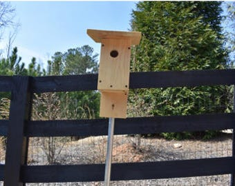 BLUEBIRD NESTBOX-PREBUILT