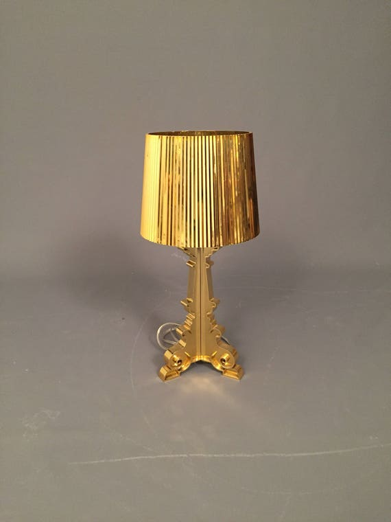 Art Deco style modern gold table lamp