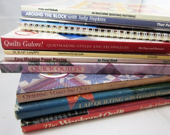 Choice of 3 Quilt Book Lots - Booklets, Galore and More, Makes the Quilt